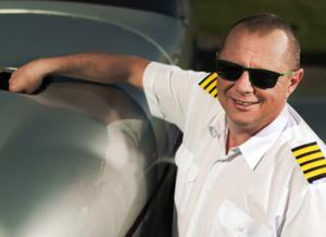 Aerotaxi pilot Libor