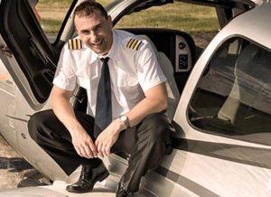 Aerotaxi pilot Martin